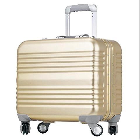 MHGAO Lega di alluminio-magnesio CCS Rod scatola universale computer business bagagli valigia , 1 , 18 inch