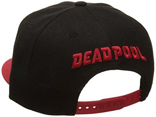 Imagen de marvel casquette snapback deadpool legend icon , negro, talla única unisex adulto alternativa