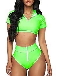 27b8726a1b2 Swimwear, Surfwear & Wetsuits Houystory Bikini Sets Fashion Women's Ladies  Vintage Lace Bikini Sets Beach Swimwear ...