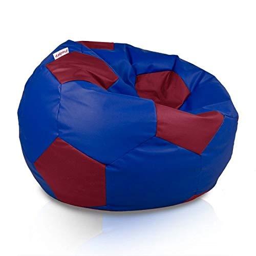 Italpouf - Puf de balón de fútbol Grande XL, Puff de balón de ...