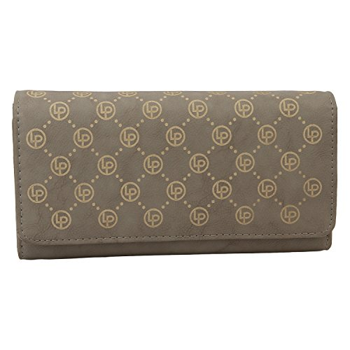 Lino Perros Women's Wallet (Grey)  available at amazon for Rs.397