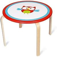 Preisvergleich für Scratch 6182311 - Runder Tisch Eule Lou, 60 x 45.5 cm