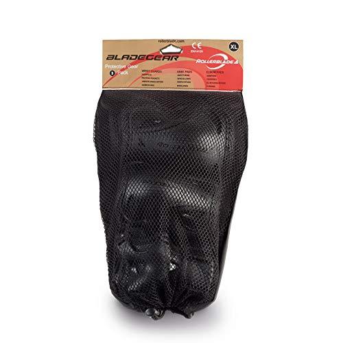 Rollerblade Erwachsene Schützer Bladegear 3 Pack Black, L