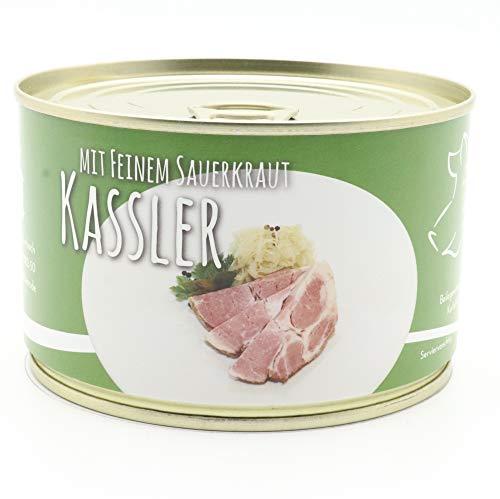 Diem - Kassler/Kasseler mit Sauerkraut/Pökelbraten mit Kraut/Krautfleisch/Dose - 400g