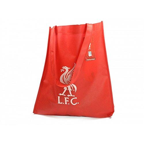 Liverpool FC Mehrweg Tasche mit Wappen Rot/Weiß
