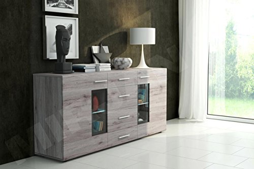 Kommode: Mirjan24 Kommode Twist Anrichte Highboard Sideboard