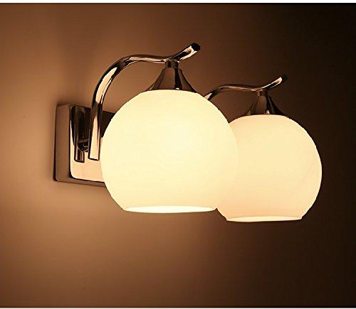 American Modern minimalistisch Home, Innentüren, Korridore, auf die Straße, Geschäfte, Restaurants, Dekorative kreative Wandleuchte, Doppel Kopf mit LED-Lichtquelle (Doppel-innentüren)