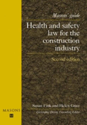 Health and Safety Law for the Construction Industry, 2nd edition
