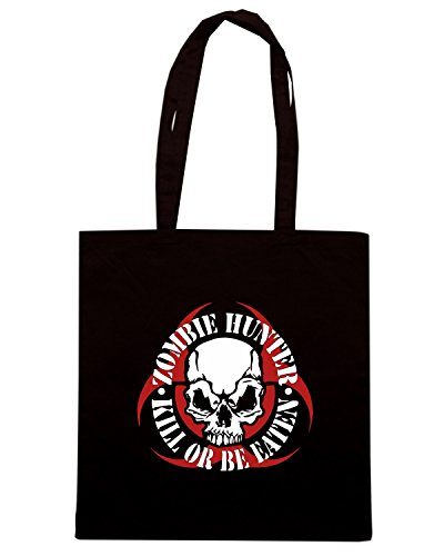 T-Shirtshock - Borsa Shopping TZOM0052 zombie Nero