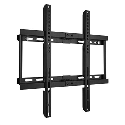 Ultra Slim TV Montaggio a parete per 30-55 Pollici (58cm-140cm) LCD LED 3D TV al Plasma spirito libero Livello Max VESA 400mm x 400mm Super Forte Capacità di peso 50KG