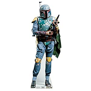 STAR CUTOUTS - Reproducción a Escala Boba Fett Star Wars (SC477)
