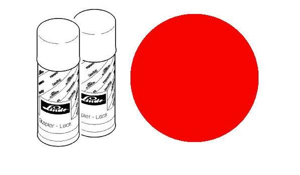 Forklift Paint Blutorange Farbe Für Gabelstapler Passend Für Linde Ral2002 Amazon De Baumarkt