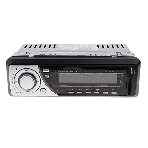Generic 1030BT Car Bluetooth Stereo Audio Headunit FM Radio 1DIN In-Dash USB/SD/MMC/WMA/MP3 Player - 24V