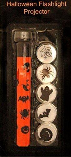 Halloween Scary Taschenlampe Flash Projektor Toys Kids Kinder Party Fun Aktivität Home Dekorationen Dark Pumpkin Spider Web