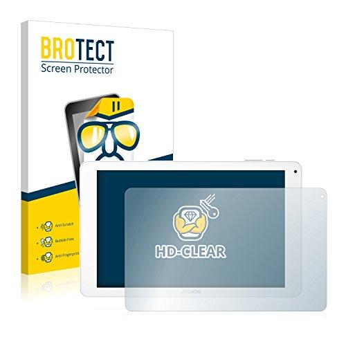 BROTECT Schutzfolie für Archos 101 Platinum 3G [2er Pack] - klarer Displayschutz