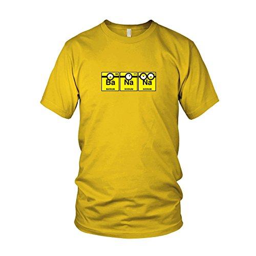 Despicable Dave 2 Kostüm Me Minion - Banana Chemistry - Herren T-Shirt, Größe: XXL, Farbe: gelb