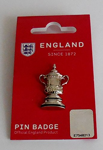 FA Cup Trophy Pin Badge, used for sale  Delivered anywhere in UK