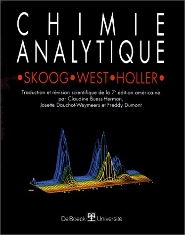 Chimie analytique par Skoog