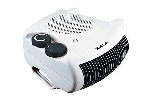 Jocca 2000 Calefactor Plano/pie, Color Blanco, 2000 W