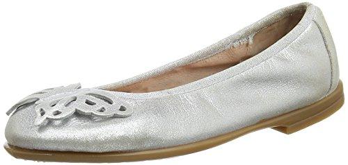 Unisa Simbo_Mts, Ballerine Bambina, Argento (Silver), 35 EU