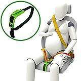 ZUWIT Bump Belt, Ajusteur de ceinture de maternité, Confort et sécurité pour le ventre de femme enceinte, protégez le bébé à naître, un must-have pour les futures mamans(vert)