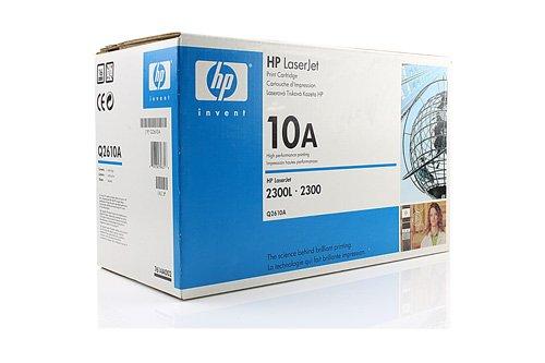 HP Original Q2610A / 10A, für Laserjet 2300 DTN Premium Drucker-Kartusche, Schwarz, 6000 Seiten