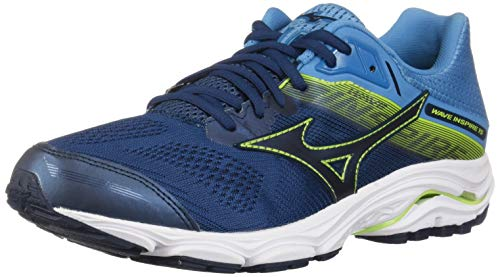 Mizuno Herren Wave Inspire 15 Running Shoe Laufschuh, Wing Teal-Dress Blue, 46.5 EU -