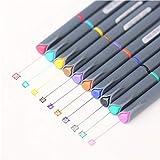 PiniceCore 10pcs 0.38mm Creativo Multicolor del Gel Pluma Promocional Regalo de la Escuela de Escritorio de papelería Material Escolar Kawaii