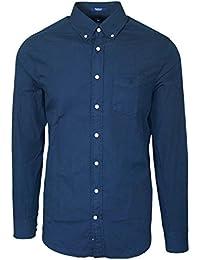 Gant - chemise gant bleu marine