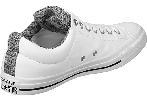 Converse CT AS High Street Ox Sneaker Turnschuhe Schuhe Unisex Bianco