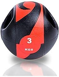Medizinball mit Griff, Gewicht 5kg