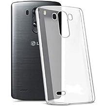 Carcasa Suave de Silicona Transparente de Gel irrompible LG G3S, LG G3s, LG G3MINI