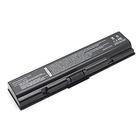 LENOGE® 10.8V/5200mAh-- New Laptop 6 CELLS Repalcement Li-ion Battery for Toshiba PA3534U-1BAS PA3534U-1BRS PABAS098 PABAS099 PABAS174; Toshiba Satellite Pro A200 A300 L300 A205 A210 L300D A500 A505 A505D; Toshiba Satellite L300 Series; L300-1BD L300-1BG L300-1BV L300-1BW L300-1CM L300-1CU L300-1DI L300-1DN L300-1DU L300-1ES L300-1FS L300-1G4 L300-1G5 L300-1G6 L300-1G8 L300-1G9 L300-1GC L300-20A L300-20D L300-20W L300-214 L300-215 L300-217 L300-218 L300-21C L300-21H L300-226 L300-227