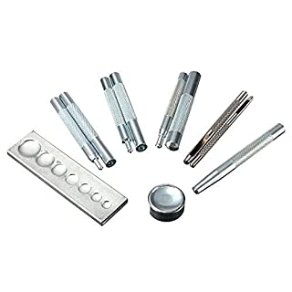 Aiskaer® 11High Qualität DIY Craft Lederarbeiten Werkzeug Sterben Punch Snap Rivet Setter gurthalteband Druckknöpfe Knopf