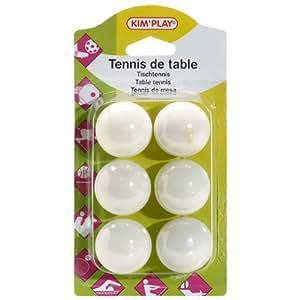 COFALU KIM PLAY - 110 - 6 Balles - Ping Pong