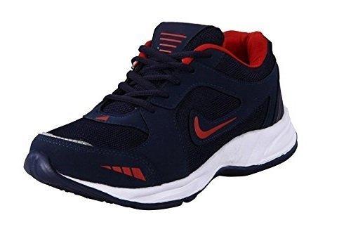 Rockfield Men's Running Shoes Black & Red Eva 9