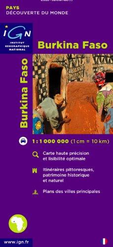 Carte routire : Burkina Faso