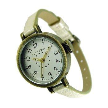 tokyobay-ladies-mabel-slim-white-watch