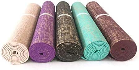 FELICIGG FELICIGG FELICIGG Stuoia di Yoga della stuoia di Yoga della stuoia di Yoga della Iuta Antiscivolo rispettosa dell'ambiente della stuoia di Yoga (Coloree   Beige) B07N68LZS6 Parent | Nuove varietà sono introdotte  | Stravagante  | Lussureggiante In Design  | Exi 4cb4a7