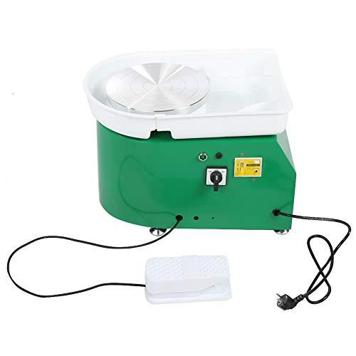 Elektrische Töpferscheibe, 350W 24cm / 9.45 zoll Töpferei Maschine, bürstenlose elektrische Maschinen, DIY Keramikwerkzeug Tonwerkzeug zum Werfen und Formen von Keramik