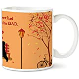 Bakhand Arts, The Greatest Gift Quote Multi Color Printed Coffee Mug Ceramic Designer 325 Ml -Best Dad-Papa-Birthday Gifts, Fathers Day Gifts, Parents Anniversary Gifts, Dad Mug Gift