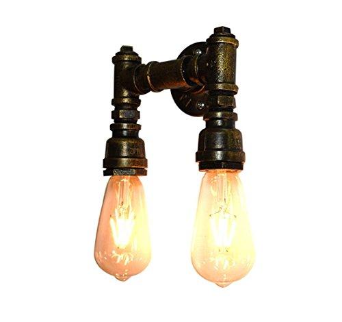 Zlamp Retro Plumbing Eisen Wand Lampe Beleuchtung, Dekorative Korridor Gang Antiken Industriellen Stil, 4# -
