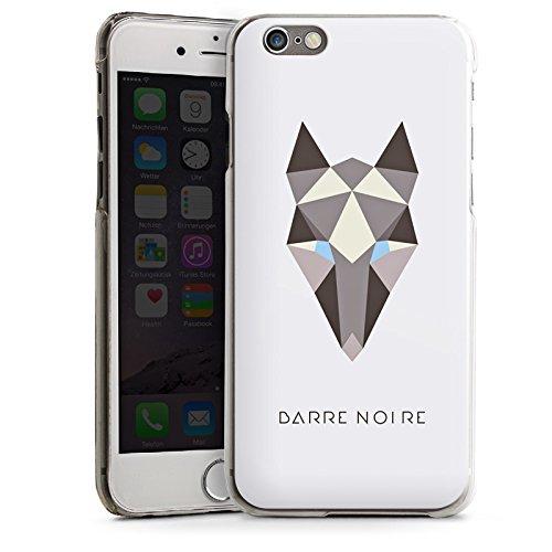 Apple iPhone 5s Housse Étui Protection Coque Renard Motif Motif CasDur transparent