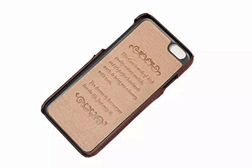 iPhone 6/6S plus Caso, Moda Coccodrillo Texture +Davvero Slot di scheda cintura + Slim PC Shell per iPhone 6/6S plus caso (Rose) Blu