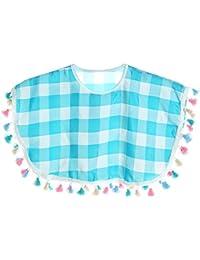 BEZLIT - Cárdigan - capa - Cuadrados - Cuello redondo - Sin mangas - para niña