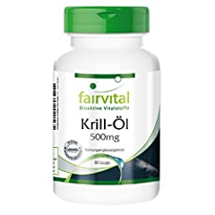 Krill-Öl Kapseln 500mg