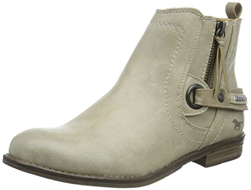 Mustang 1157-518-243 - Stivaletti Donna, Bianco (243 ivory), 38 EU