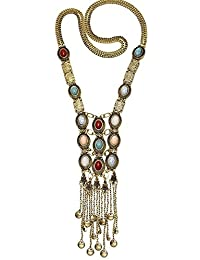 TBOP NECKLACE THE BEST OF PLANET Simple And Stylish Jewelry Tassel Necklace Pendant Multi - Level Pendant Pearl... - B0772P96RS