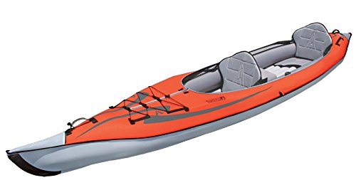 Advanced Elements AE1007-R - Kayak hinchable, color rojo