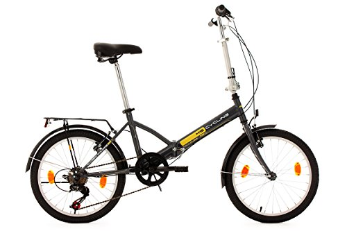 KS Cycling, Bicicletta pieghevole 20 Zoll Toulouse RH 32 cm,